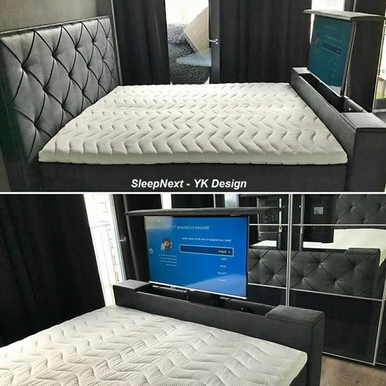 Boxspring Review Bol.com | Sleepnext Hq - Luxe Boxspring Met Tv Lift - Yk
