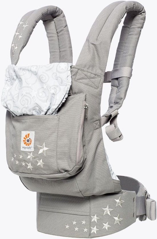 Ergobaby Original Carrier With Infant Insert Bol Ergobaby Original Carrier Draagzak Galaxy Grey