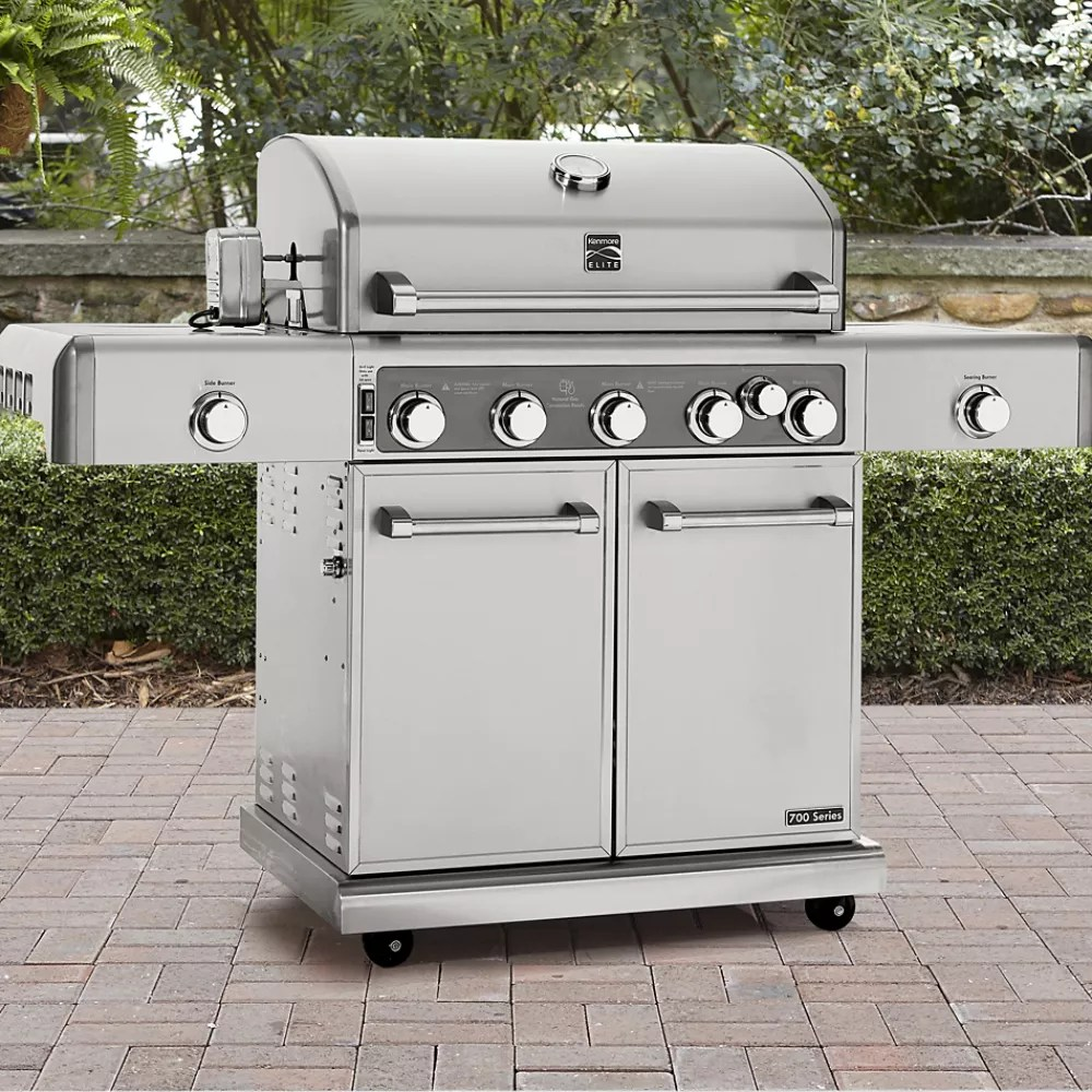 Outdoor Grill Grills Shop For Gas Grills And Charcoal Grills At Sears