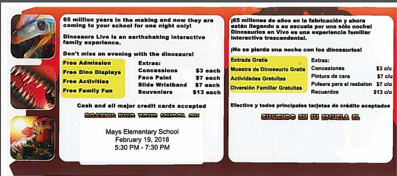 Mays Elementary Newsletter Smore Newsletters for Education