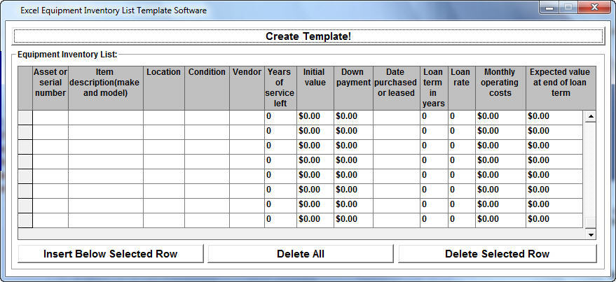 Excel Equipment Inventory List Template Software 2018 downl · GitBook