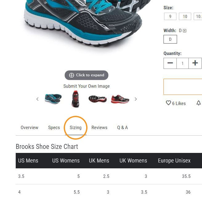 The Shoe Sizing Guide Sierra Trading Post