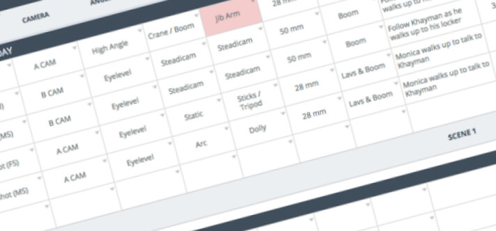 The Only Shot List Template You Need \u2014 with Free Download