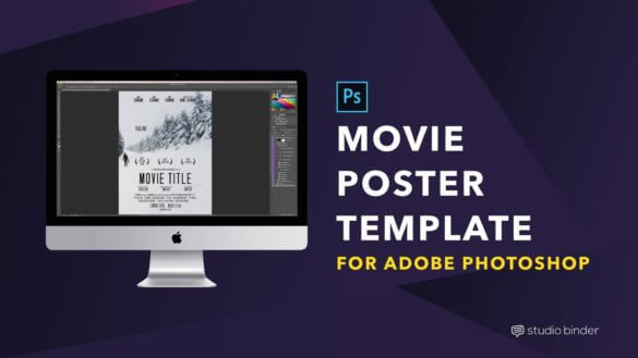 movie poster template photoshop Archives