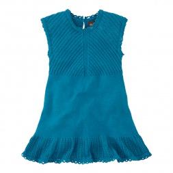 Tea Collection Blaues Meer Sweater Dress