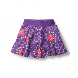 Tea Collection Bandhani Floral Skort