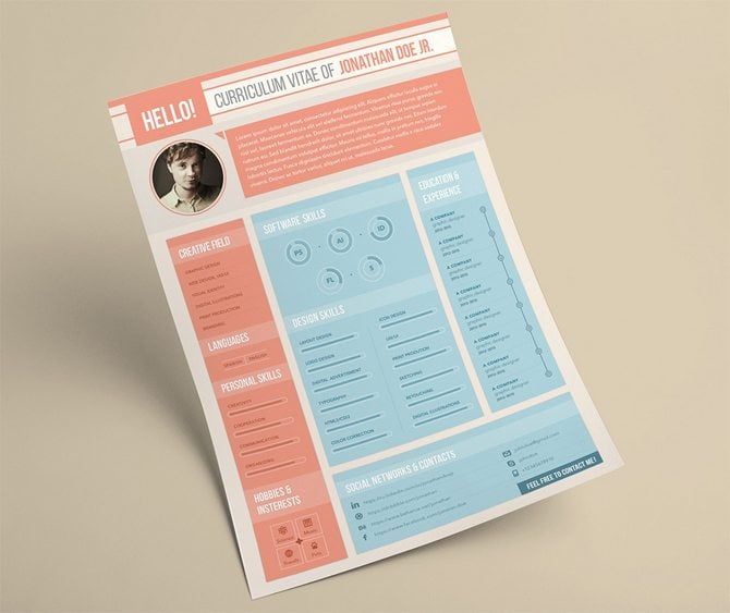 Best Resume Templates 2015 Free 20 Resume Templates That Look Great In 2015 Creative 40 Best Free Resume Templates 2017 Psd Ai Doc
