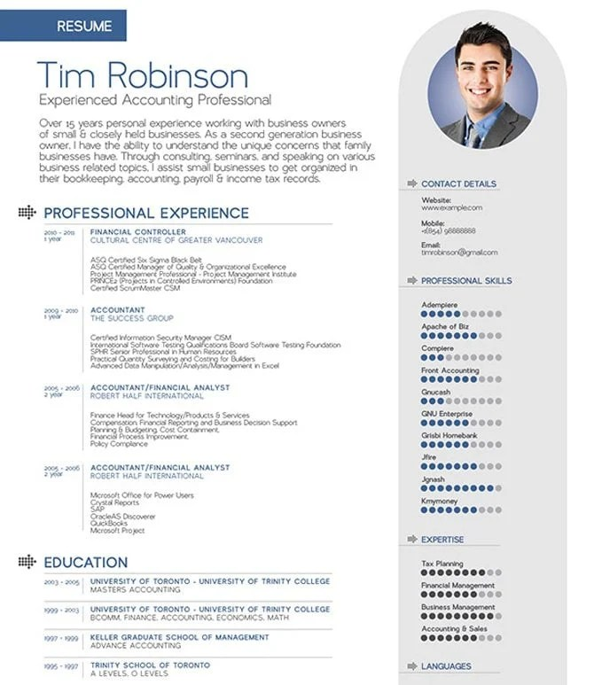 free professional resume template word - Boatjeremyeaton