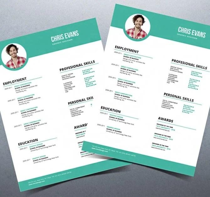 resume modern templ - Romeolandinez - modern resume design