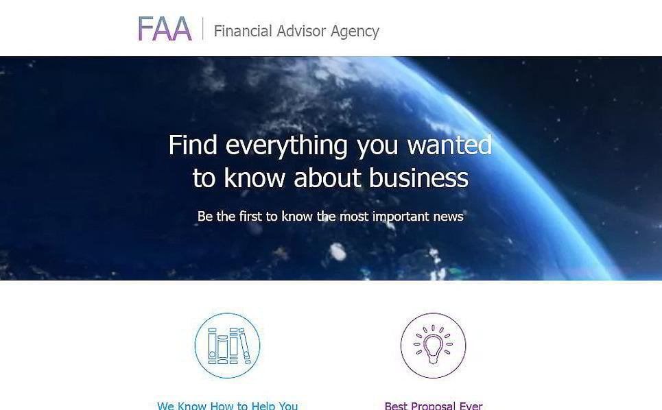financial advisor newsletter templates - Selol-ink