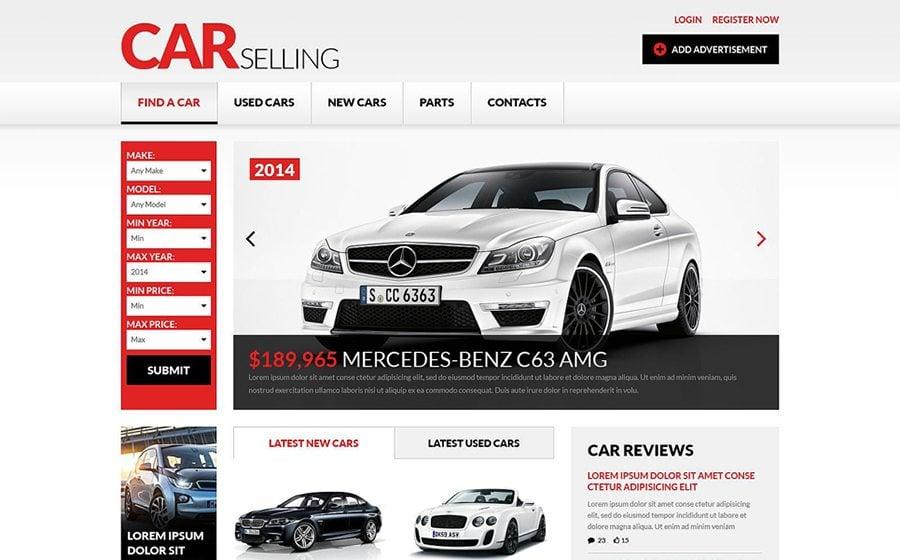 selling car template - Pinarkubkireklamowe