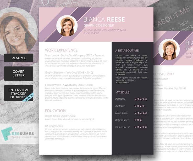 Best Resume Header Fonts Lifeclever ; Give Your Rsum A Face Lift 50 Best Resume Templates For Word That Look Like Photoshop