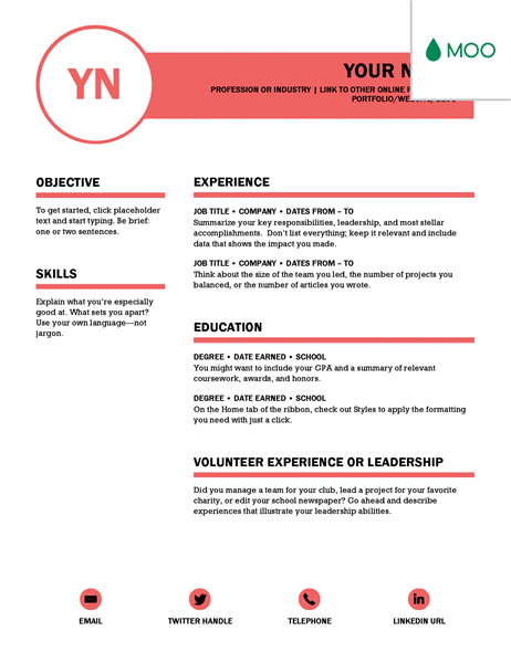 colorful resume templates microsoft word
