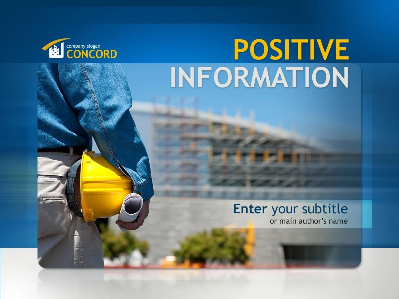 Motheo Construction Home Construction Company Powerpoint Template 32591