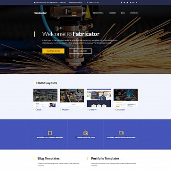 Create Industrial Website Industrial Templates MotoCMS - how to create a website template