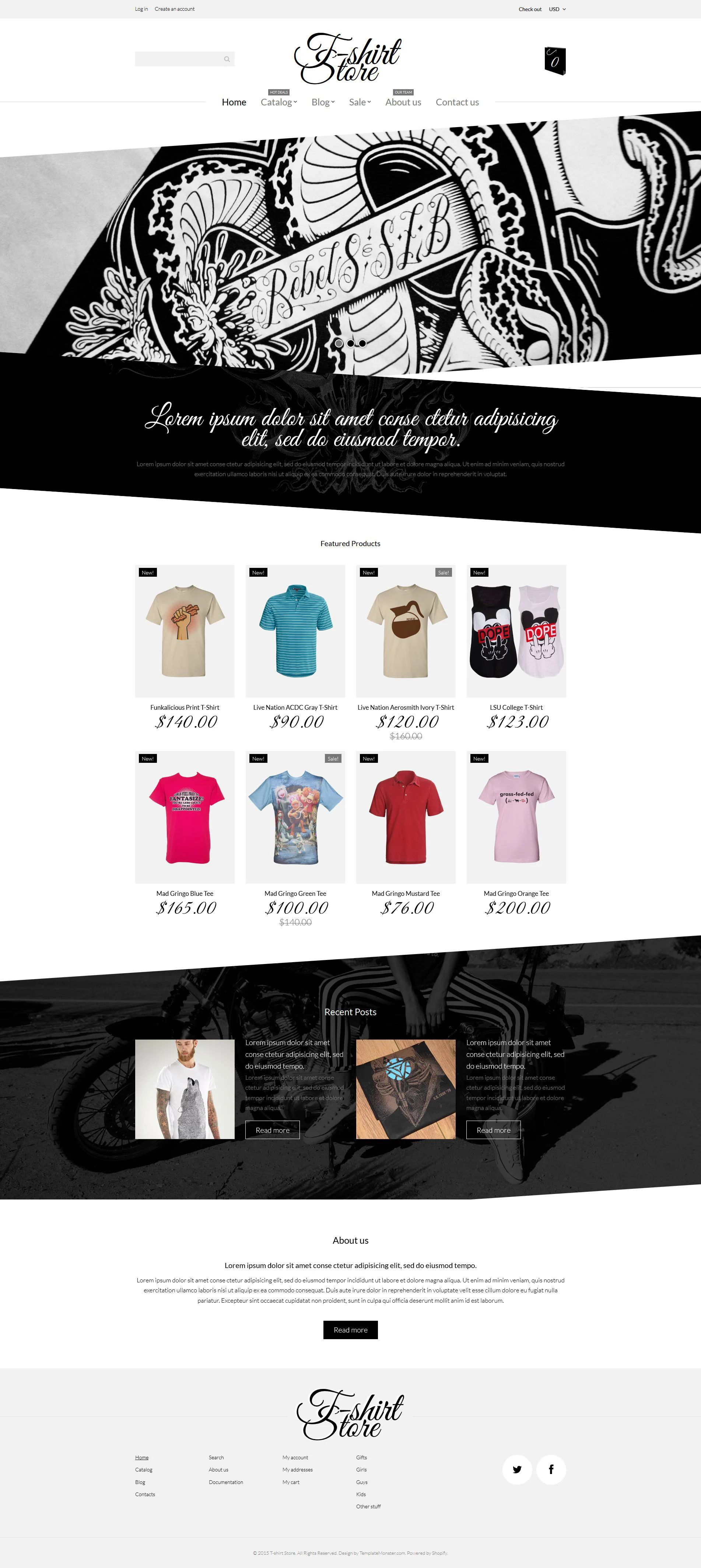 T shirt design jquery -  Jquery T Shirt Designs Shopify Theme Download