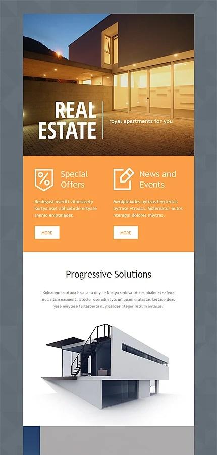 Real Estate Newsletter Template Website Templates