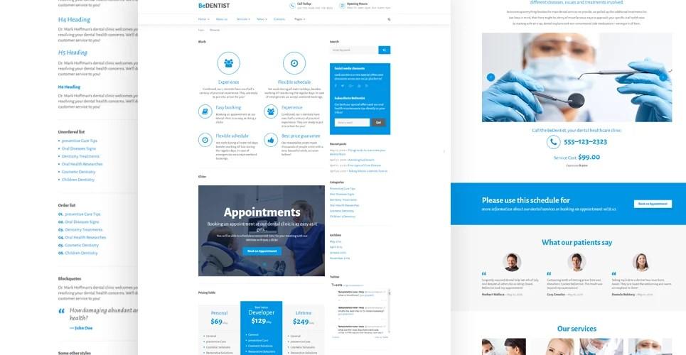Doctors Office Website Template