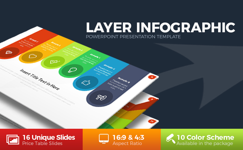 Layer Infographic PowerPoint Template #63824