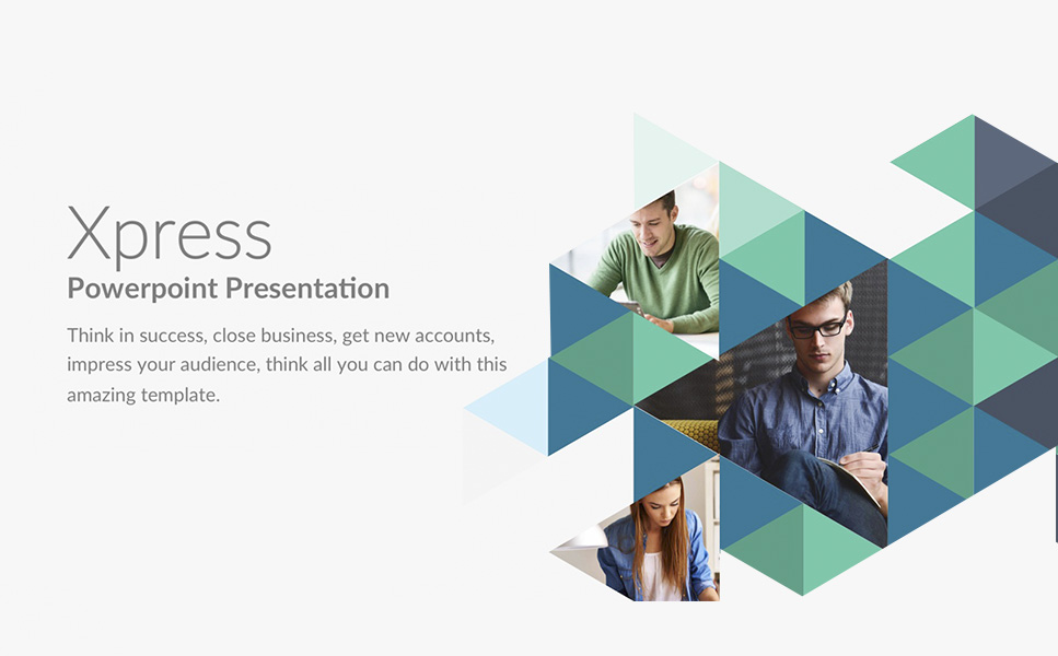 Xpress PowerPoint Template #63886