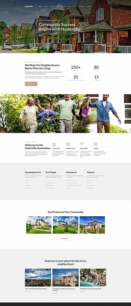 Website Templates - WebHosting Thunder - neighborhood website templates