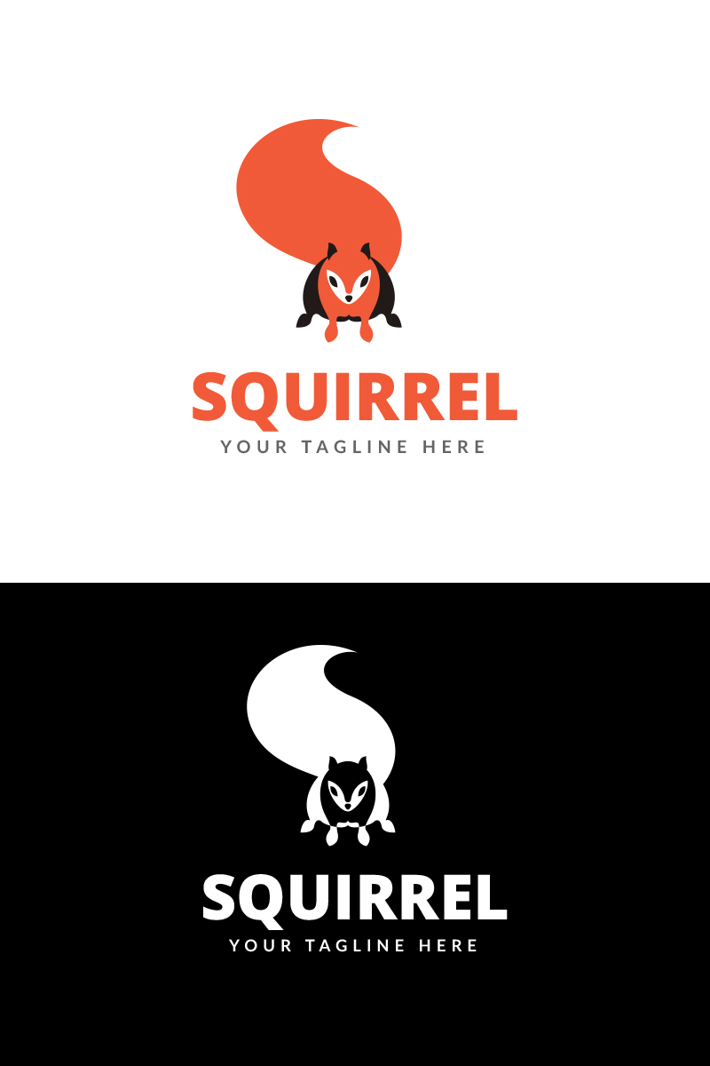 Wordpress Free Page Builder Squirrel Logo Logo Template 67808