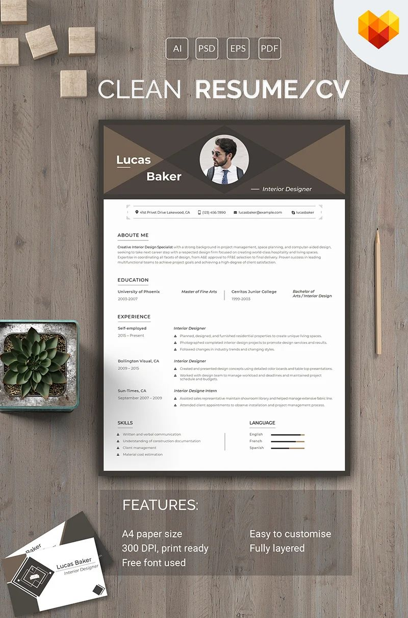 resume templates to use