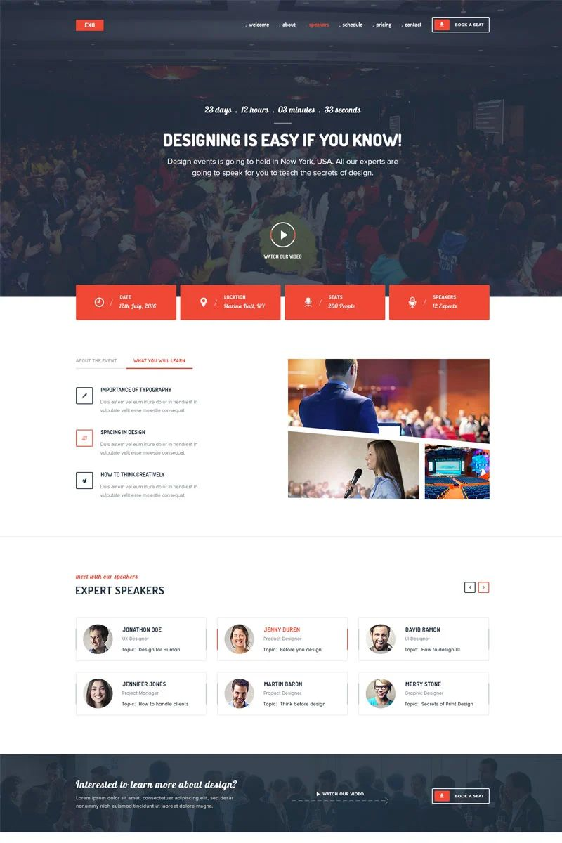 about us page templates