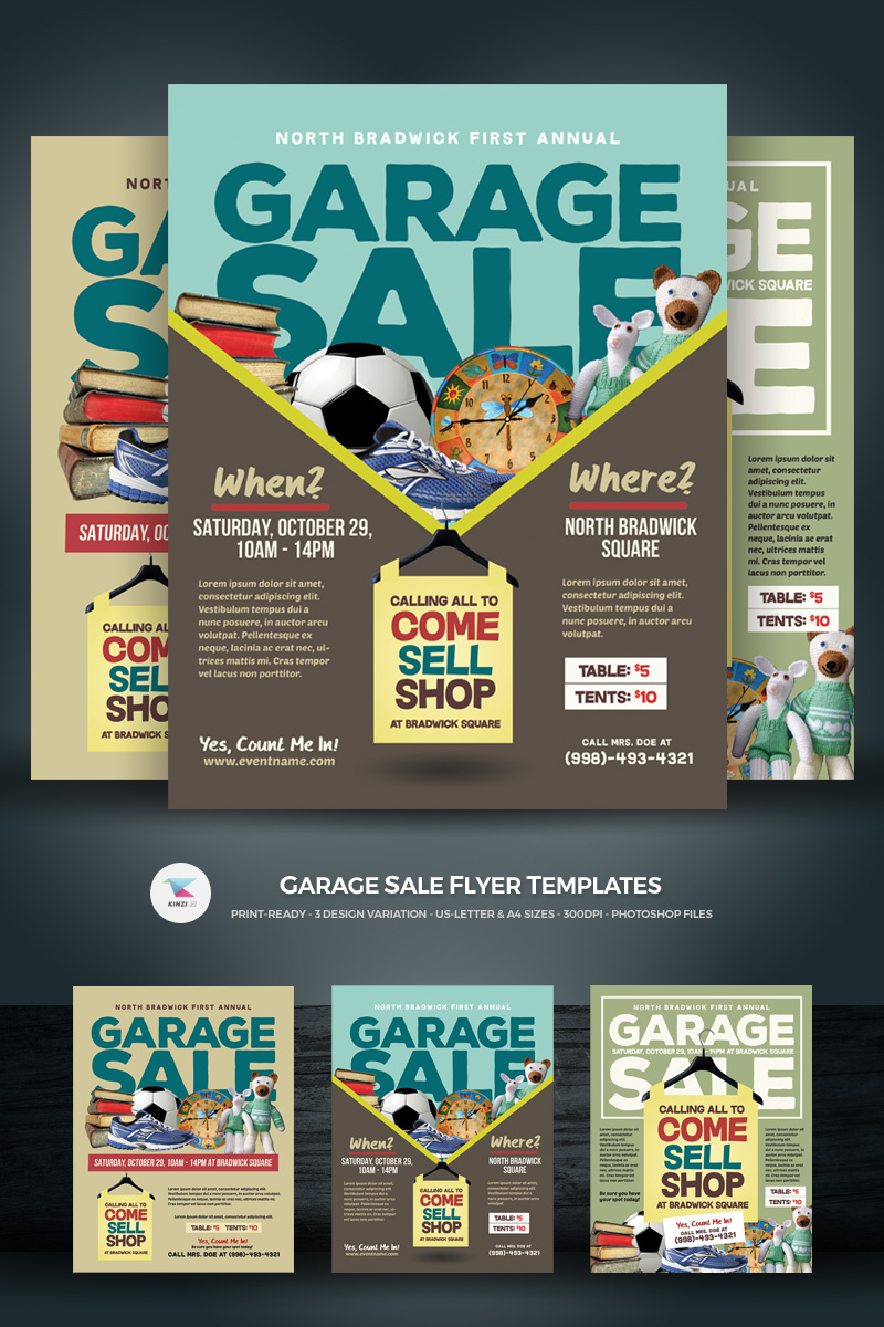 Garage Design Template Garage Sale Flyer Corporate Identity Template 68650