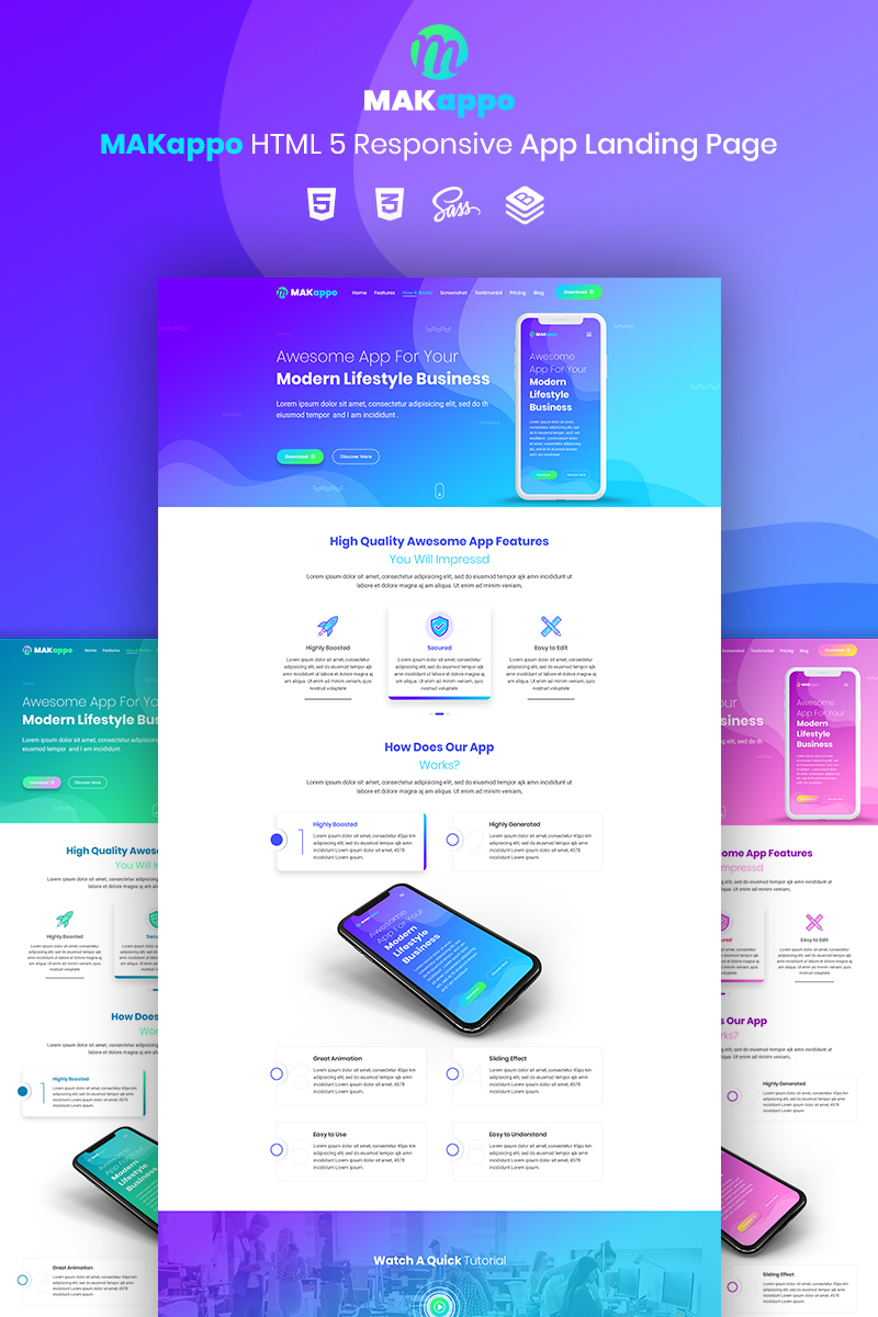 Möbel Modern Design Website Template 73811 App Corporate Creative Custom Website