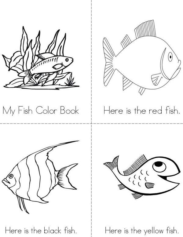 The Fish Color Book - Twisty Noodle