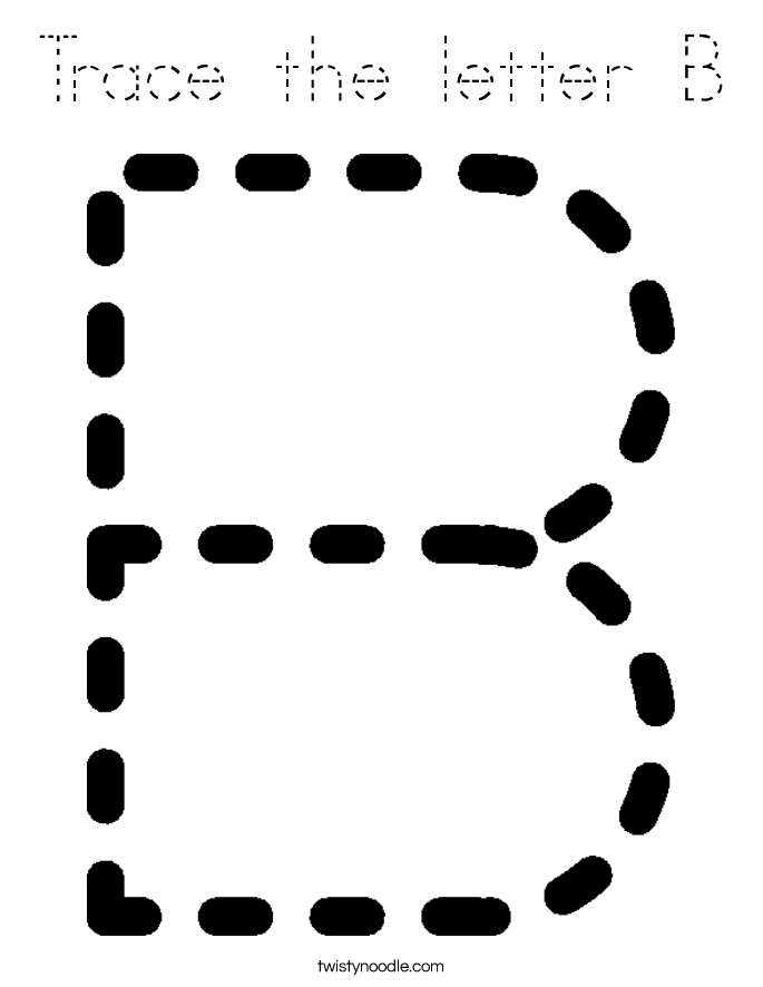 letter outline template