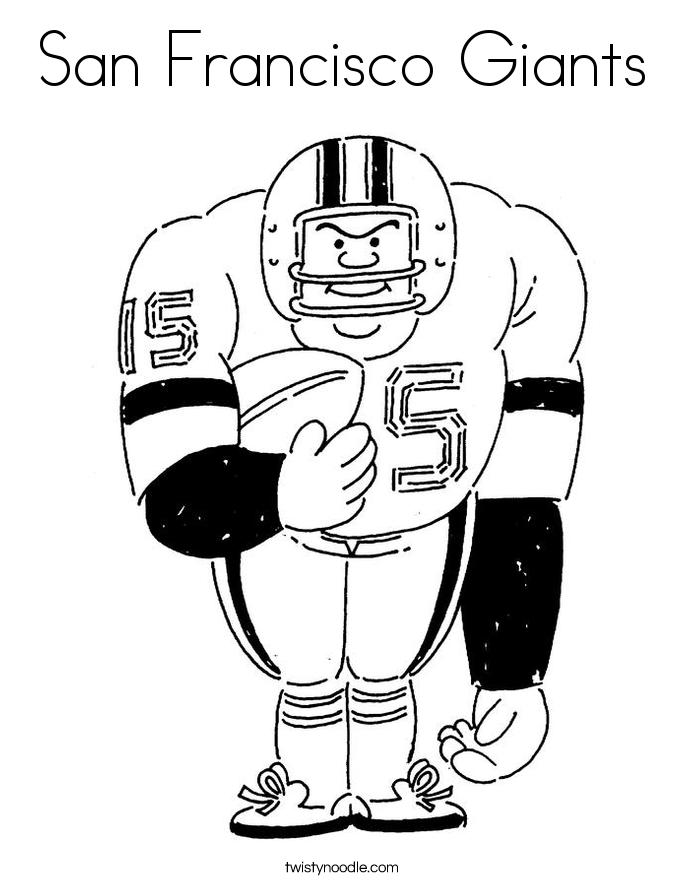 San Francisco Giants Coloring Pages - Eskayalitim