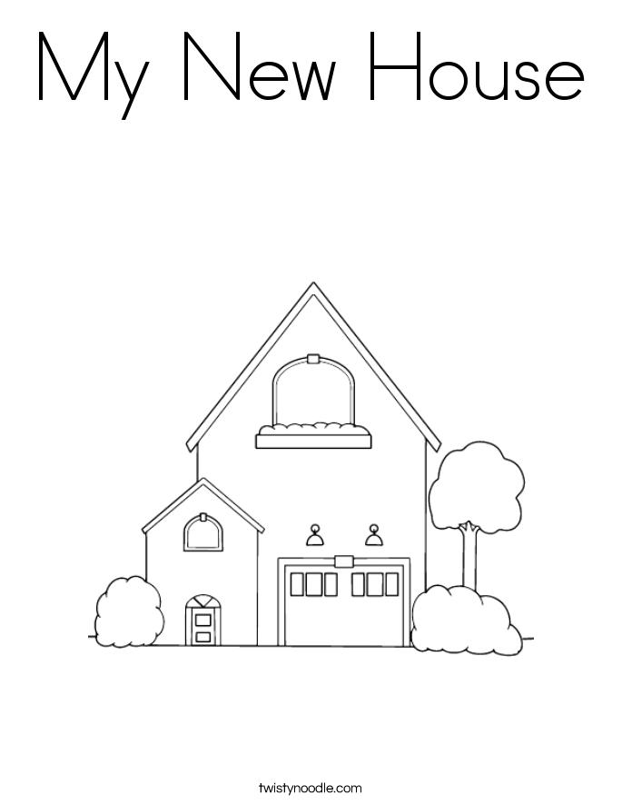 house new home Schaltplang