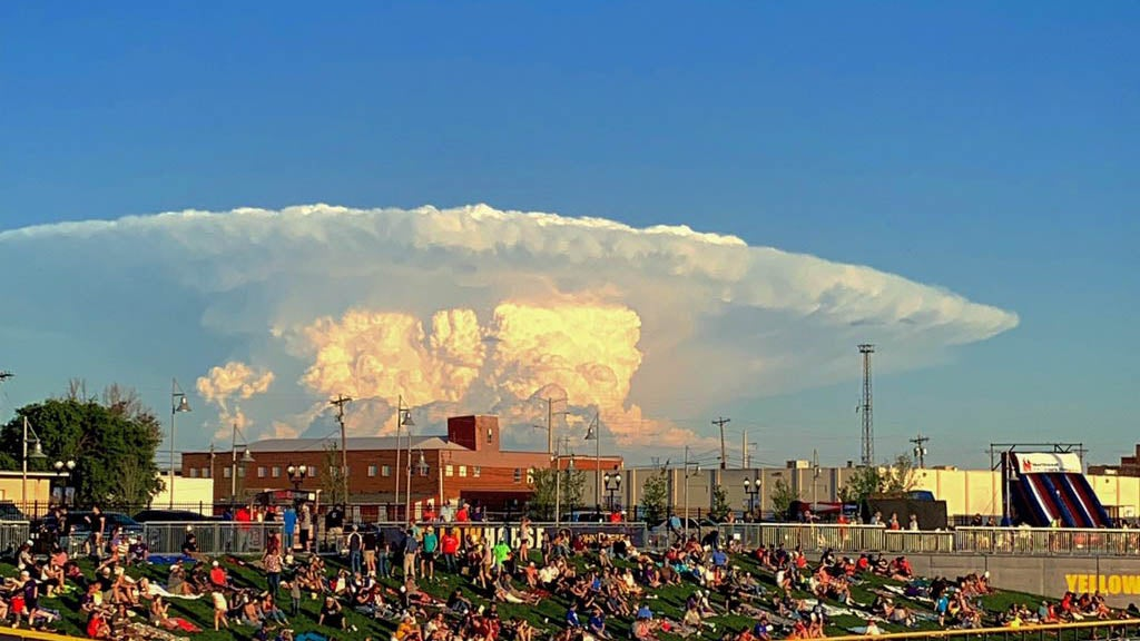 Like Weather What Texas Thunderstorm Looks Like Bomb The Weather Channel