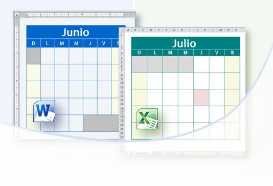 WinCalendar Creador de Calendario y descargas de Calendarios Word