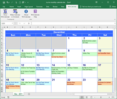 Generate Month Calendar Image Create Printable Calendar Pdf Time And Date Convert Icalendar Ics To Excel And Word