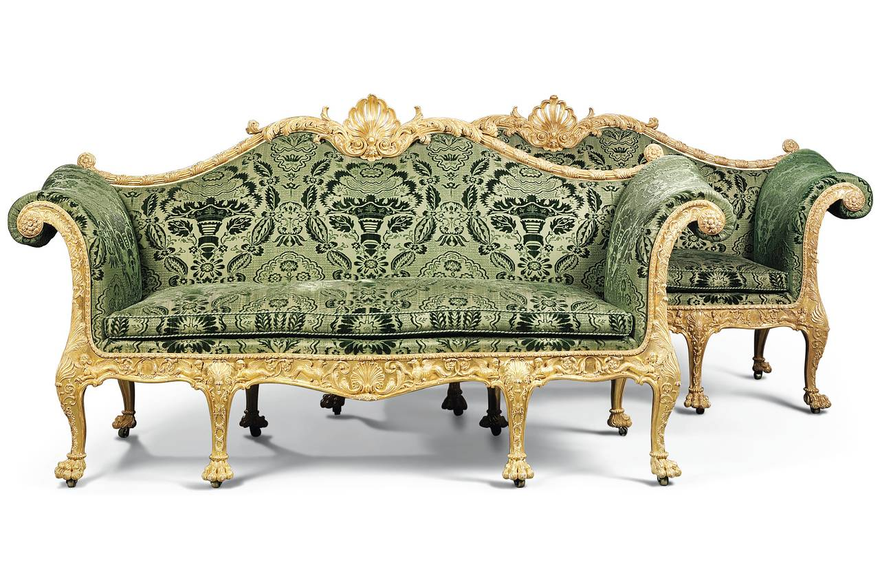Christie S London To Auction Rare Chippendale Furniture Barron S