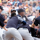 MLB hands down five suspensions from Yankees-Tigers brawl