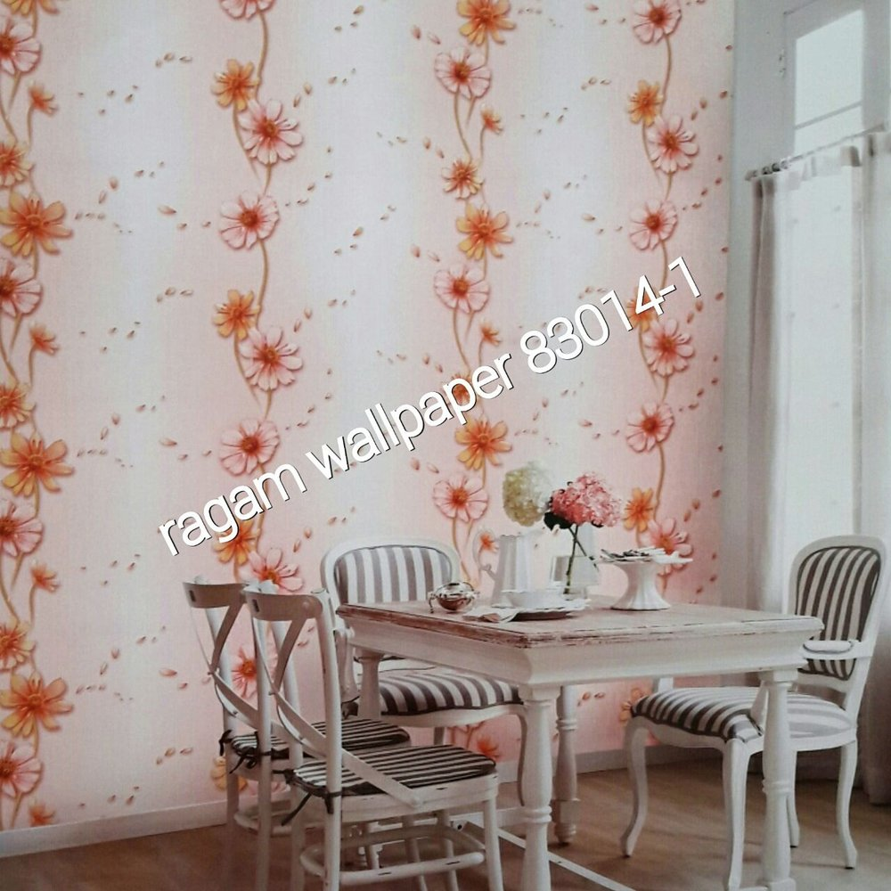 Model Wallpaper Kamar Wallpaper Kamar Ruang Tamu Minimalis Flower Classic Elegant Garden 2 Type 83014 1 Wallpaper Cina Model Klasik Wallpaper Import Korea Wall Paper