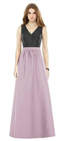 Alfred Sung Suede Rose Bridesmaid Dresses | The Dessy Group