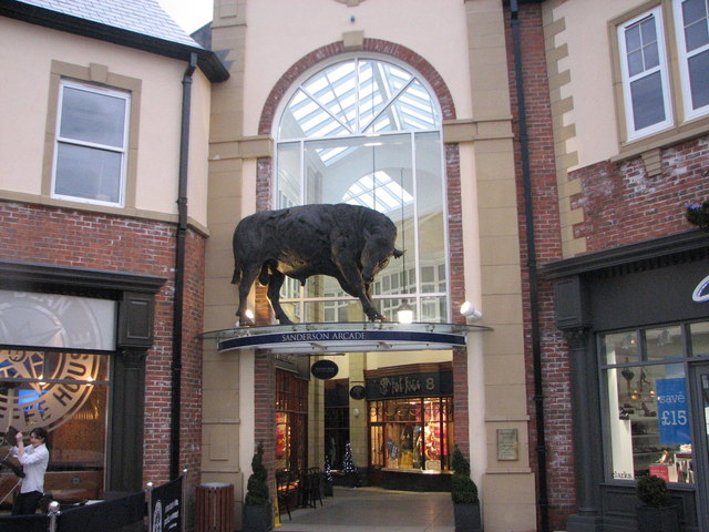 Black Frifay Sanderson Arcade ,morpeth © Willie Duffin Cc-by-sa/2.0