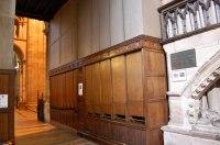 Large wooden organ pipes, Hereford...  Julian P Guffogg ...