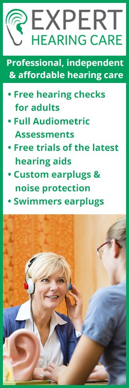 We offer tinnitus treatment via our centres in Edinburgh, Galashiels, Perth and St Andrews 1