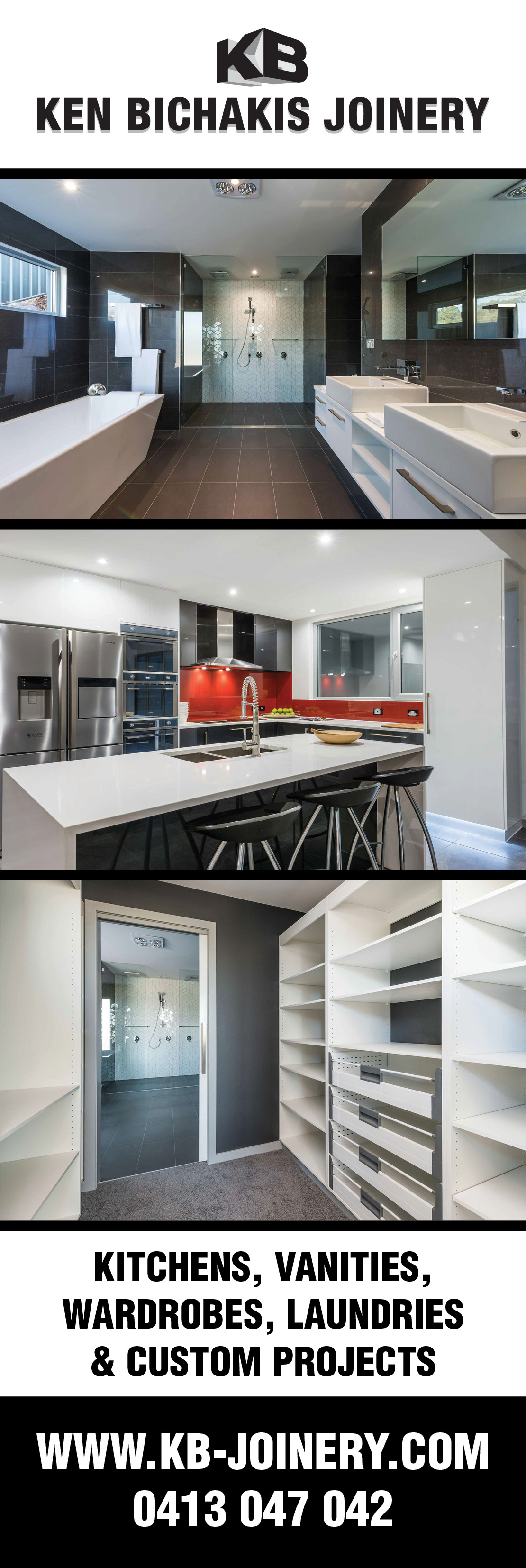 Kitchen Design Centre Hobart Ken Bichakis Joinery Pty Ltd Kitchen Renovations Designs Hobart