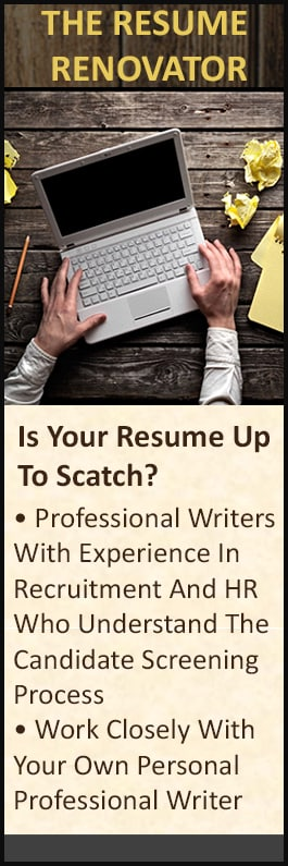 The Resume Renovator - Resume Writing Services - Suite 3 144