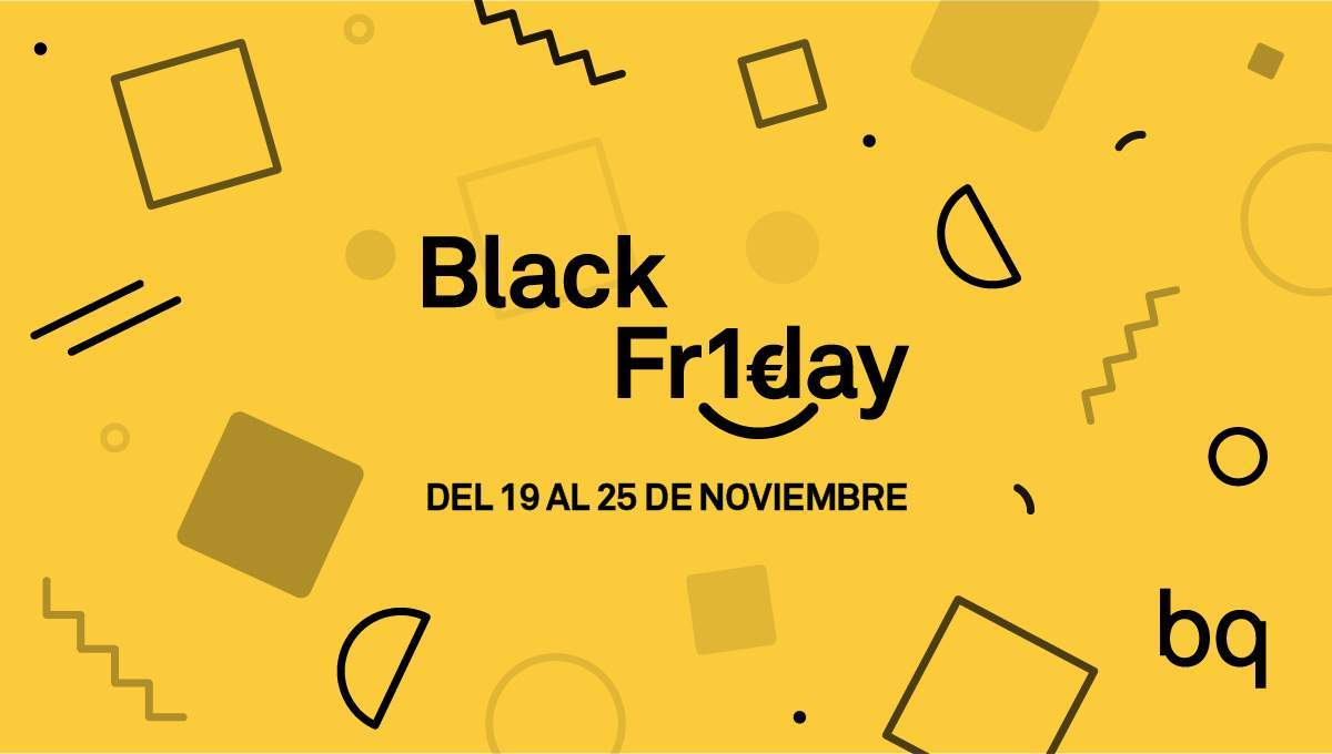 Libro Electronico Black Friday Black Friday 2018 Bq Rebajará A 1 Euro Smartphones Tablets Y