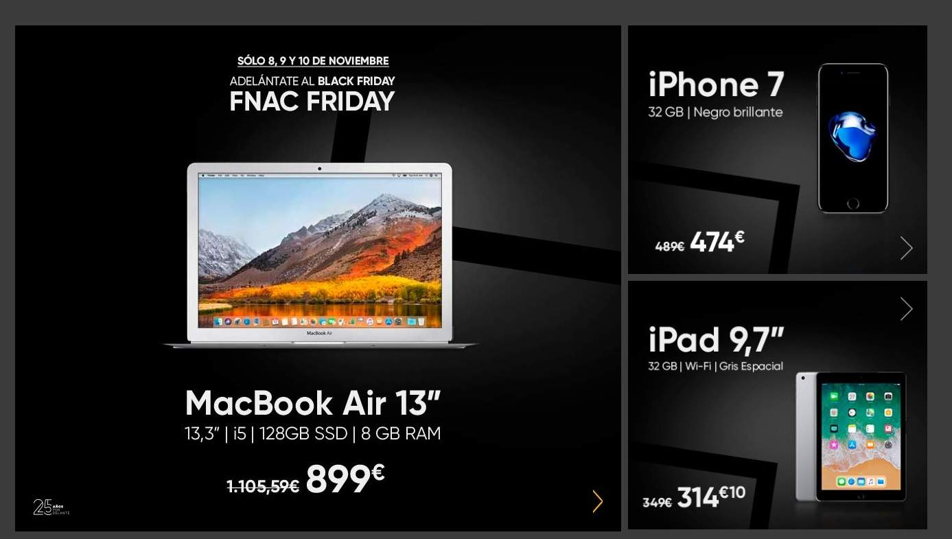 Libro Electronico Black Friday Black Friday En Apple Fnac Se Adelanta Al Viernes Negro Con
