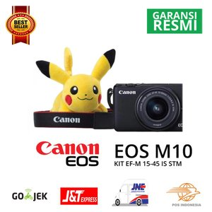 Kamera Canon EOS M10 KIT With Lens EF M15 45mm Promo