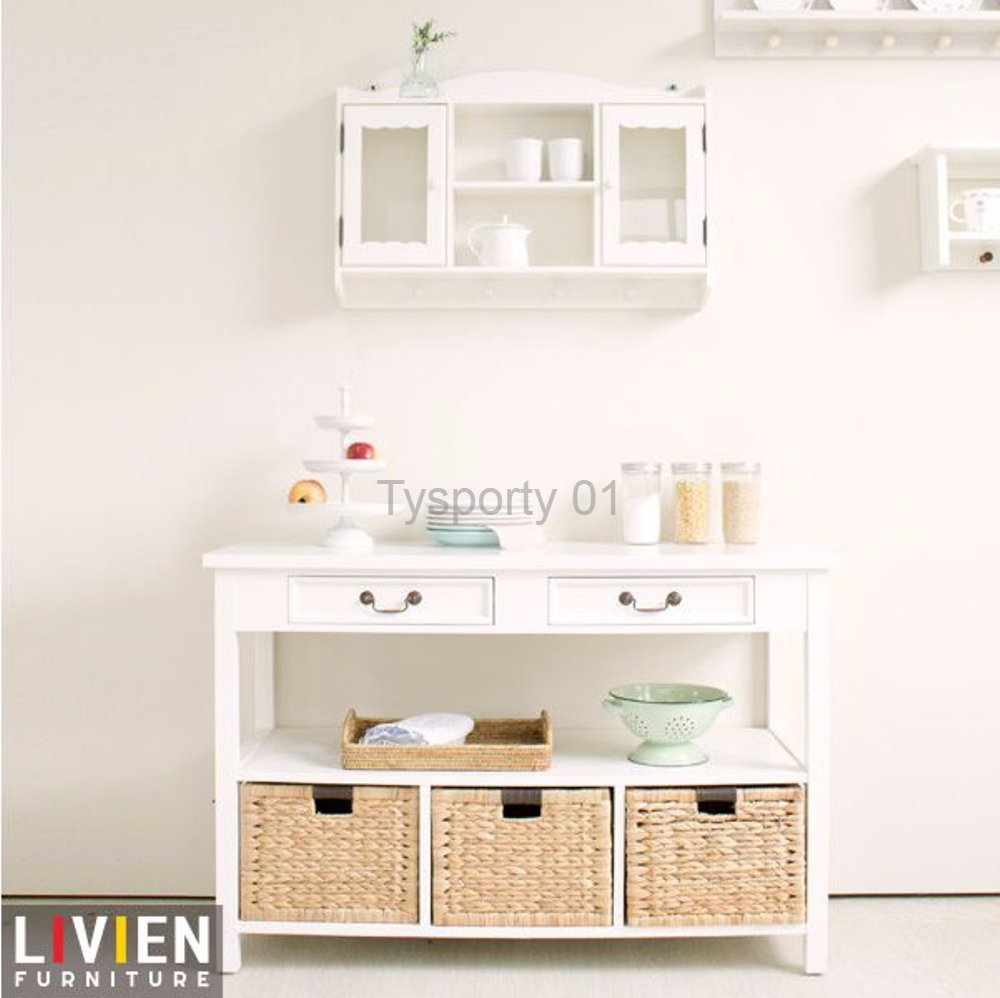 Rak Dinding Kaca Sale Top Rak Dinding Kaca Serbaguna French Series Livien Furniture